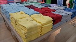 Baju dengan kualitas sangat baik Factory Outlet Jakarta [Foto: Dok Pri]