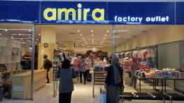 Amira, salah satu Factory Outlet di Jakarta Mangga Dua Square [Foto: Dok Pri]