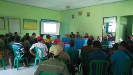 Suasana Rakor Penyusunan RDKK Di Kantor BPP Kecamatan Mojoanyar Kabupaten Mojokerto, Kamis (06/12/2018)