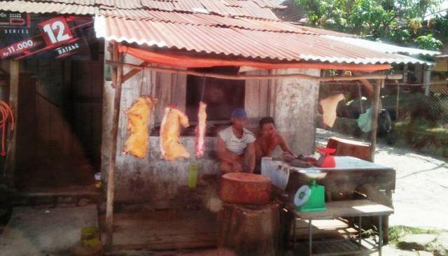 Penjual daging/ilustrasi (Kompas.com)
