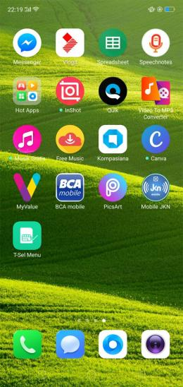 Deskripsi : Daku telah mendownload JKN Mobile di smartphone I Sumber Foto : dokpri