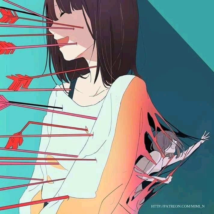 Ilustrasi penderia depresi (patreon.com)
