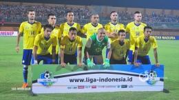 Squad Barito Putera pada Liga 1 2018 (Foto : liga-indonesia.id)