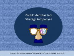 Info grafis Politik Identitas (dokpri)