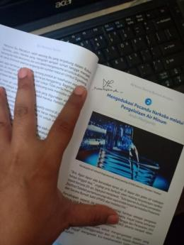 Deskripsi : blogpost Mengedukasi Pecandu Narkoba Melalui Pengelolaan Air Minum dibukukan dalam buku kompilasi Gizi Untuk Negeri I Sumber Foto : dokpri