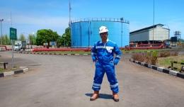 Deskripsi : Executif Writer bersama SKK Migas ke Pertamina EP Cirebon, sambil kerja juga jalan-jalan I Sumber foto : dokpri