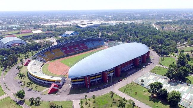 Stadion Gelora Sriwijaya Jakabaring   Sumber: KompasTV