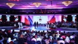 Debat Perdana Pemilihan Umum 2019 (KOMPAS/Heru Sri Kumoro)