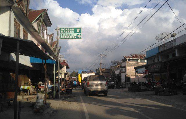 Pasar Parsoburan (Pribadi)