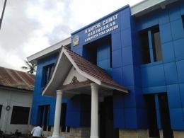 Kantor Camat Habinsaran (Pribadi)