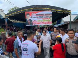 Agustin Teras Narang dalam acara Hasupa Hasundau bersama masyarakat Kalimantan Tengah (dokpri)
