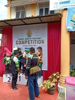 Podium Kemenangan Milik Bersama (Foto: Dokumen Pribadi)