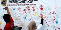 Mengenal Hoaks, Misinformasi dan Disinformasi | (KOMPAS/WISNU WIDIANTORO)