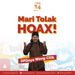 Bambang Soepijanto serukan tolak hoax