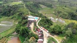 Pemukiman di Desa Batu Manumpak