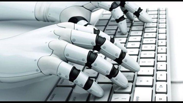 Robo Journalism - Ilustrasi: financialtribune.com