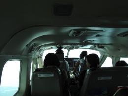 Di pesawat propeler/dokpri