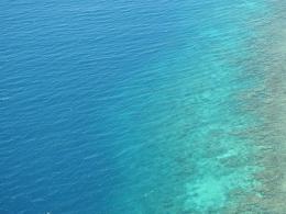 Laut biru samudera hindia/dokpri