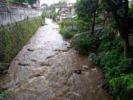 Dokpri. Sungai Pasar yang Membelah Kota Curup