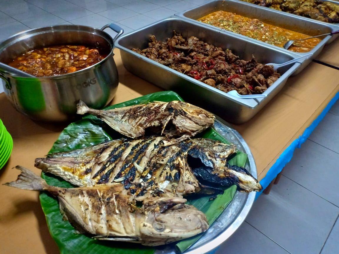 Deskripsi : Makanan yg dibuat oleh pasien narkoba RSKO Jakarta I Sumber foto : dokpri RSKO
