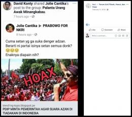 Tangkapan Layar Hoaks Tentang Pelarangan Azan - Forum AFHH Facebook