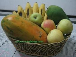 Pepaya, Mangga, Pisang,Apel Manalagi..Buah Lokal (dok pri)