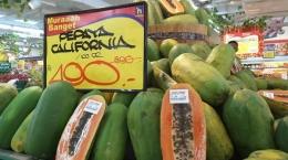 Pepaya California (sumber tribunnews.com)