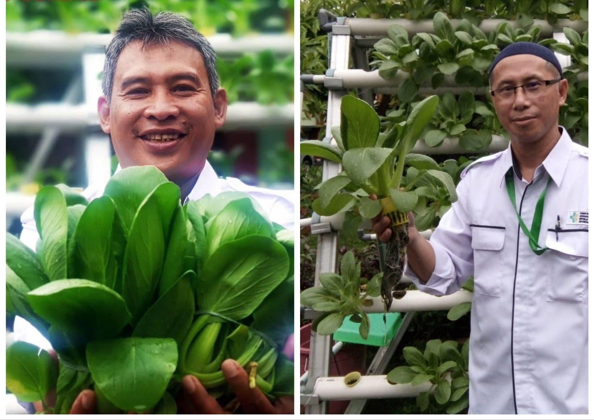 Deskripsi : 2 orang Pekerja Sosial, Agus Darmawan (kanan) & Syarifudin Satar (Kiri) I Sumber foto : dokpri