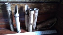 Beberapa alat musik tradisional Cirendeu dok. Pribadi