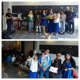 Deskripsi : Saat kegiatan Coin Collecting Day, saya (jaket hitam) & dayat (baju biru) menjadi perwakilan RSKO Jakarta I Sumber Foto : dokpri