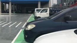 parkir di stasiun BNI CITY (tandaseru.id)