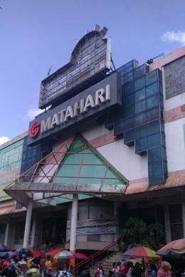 Pasar Besar Kota Malang tampak depan (Dokpri)