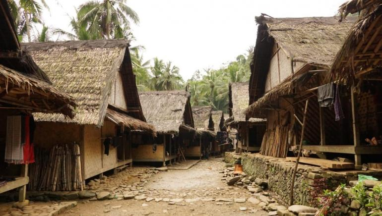 Rumah di kampung baduy/dokpri