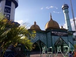 Masjid Al Misbah yang anggun (dokpri)