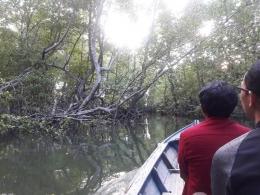 Memasuki konservasi mangrove (dokpri)