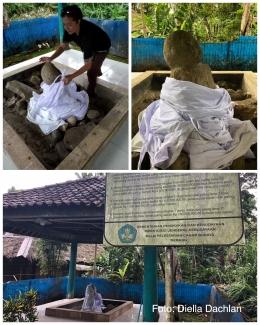 Sanghyang Dengdek, lokasinya di pinggir jalan
