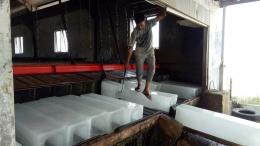 Ilustrasi: Pekerja pada pabrik es di Kecamatan Meureudu Pidie Jaya | Foto Munawar