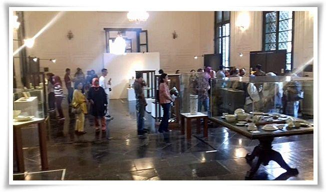 Pameran keramik kuno dan keramik modern di Museum Seni Rupa dan Keramik (Dokpri)