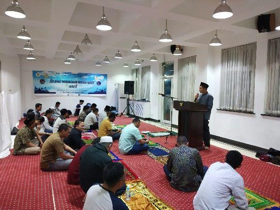 Penyampaian materi tentang pentingnya puasa Ramadhan. (Firmansyah /PCIMT/LPB/BUCT)