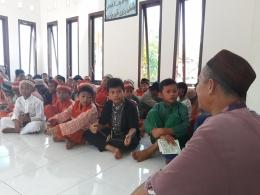 Pesantren kilat (sanlat) di SD Negeri 14 Parittiga-dokpri