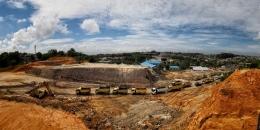 Tambang di Kalimantan Timur. (kompas.com)