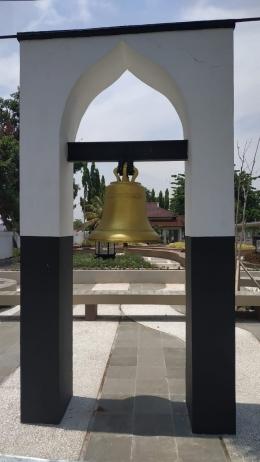 Lonceng penuh misteri yang ada di area Pendopo Cianjur