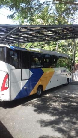 Bus Damri ke atau dari Bandara YIA
