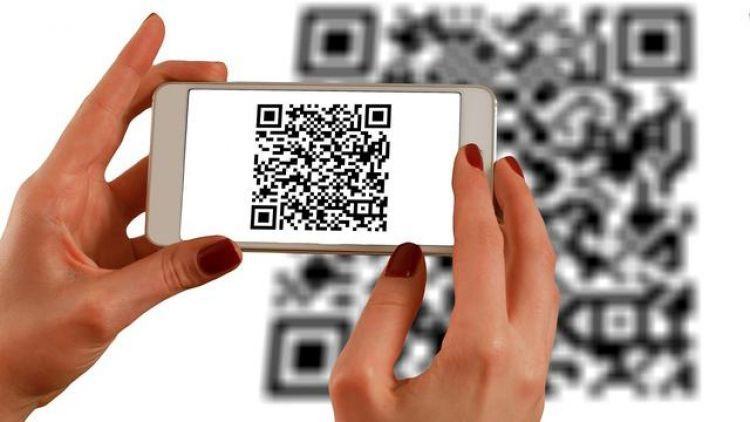 QR code. | Dokumentasi fintekmedia.id