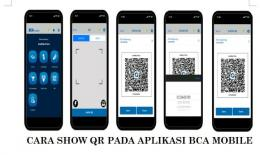 Cara Show QR pada BCA Mobile (Sumber: bca.co.id)
