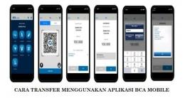 Transfer menggunakan BCA Mobile (Sumber: bca.co.id)