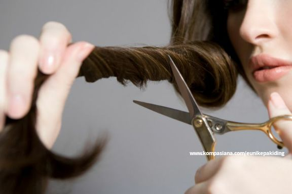 Ilustrasi potong rambut (Sumber : sharp-indonesia.com)