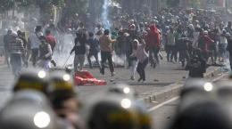 Kerusuhan 21-22 Mei [Foto: Tribunnews Makassar]