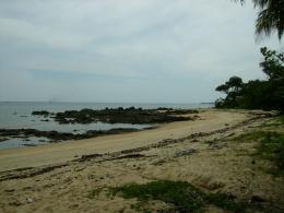 Pantai Tanjung Ular. Picture taken by Safri Ishak, Tanjung Ular, Muntok Bangka, 23-April-2011.