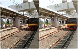 (kiri) foto asli, (kanan) setelah diedit dengan lightroom | sumber: dokpri